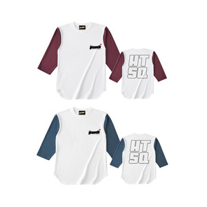 """My Punk Attitude"" 3/4sleeve T-shirt  -AKAMA Produce-"