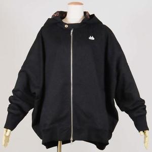 オーバーサイズジャケット BK