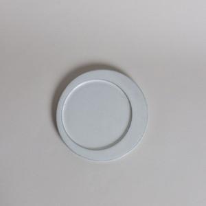 rpm / ズレた丸プレート 【中】 白妙〈陶器 / 食器 / お皿 〉