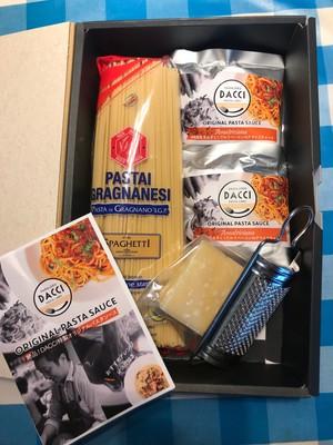【お家でダッチ】パスタ麺とパスタソース、熟成チーズセット