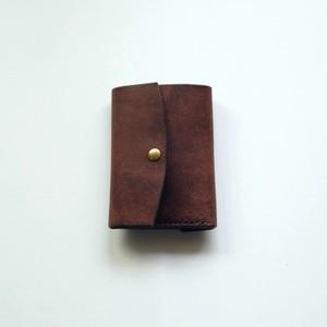 tri-fold wallet - tabacco - プエブロ