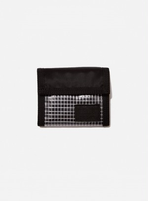 PORTER®︎FLIGHT NYLON THIN WALLET(S) / bal BLACK