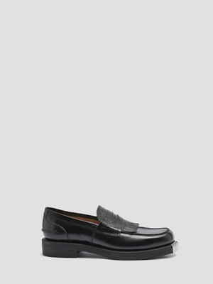 OUR LEGACY LOAFER BLACK ARMY GRAIN LEATHER A2217LB