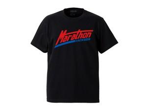 T-SHIRT M319105-BLACK / Tシャツ ブラック BLACK  / MARATHON JACKSON マラソン ジャクソン