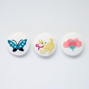 『戌年のブローチセット』刺繍キット【期間限定】