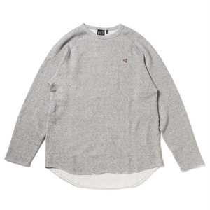 FOURTHIRTY 430 L/S FLAG ICON CUTOFF SWEAT