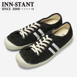 #305 SUEDE SHOES grey/natural (natural sole)  INN-STANT インスタント 【消費税込・送料無料】