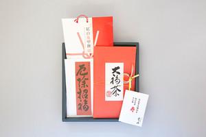 大福茶と紅白亀甲餅・厄除ぜんざい(W-12)