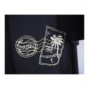 Postcard  Embroidery Shirt