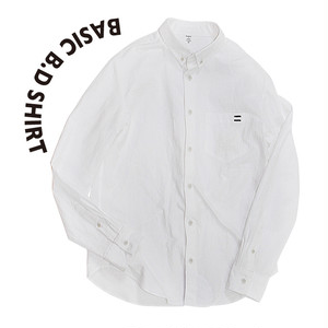 Basic B.D shirt [White]