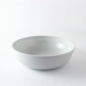2016/ TeruhiroYanagihara Bowl-200 φ20 x H6cm 有田焼 陶磁器 ボウル 丼 ホワイト デザイナーズ ブランド シンプル  スタイリッシュ テーブルウェア 北欧