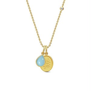 Julie sandlau aurora necklace blue moon julie sandlau julie sandlau aurora necklace blue moon mozeypictures Choice Image