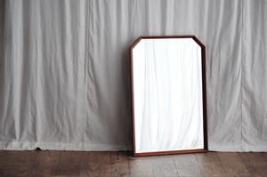Teak Wall Mirror Vintage