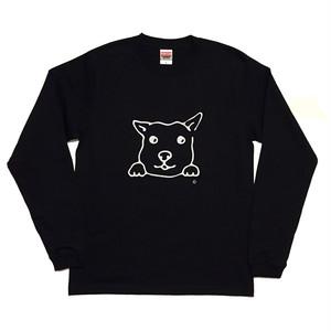 犬Tシャツ 長袖