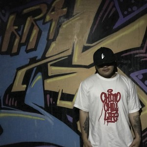 CHITTO CHILL LIFE tee white × red