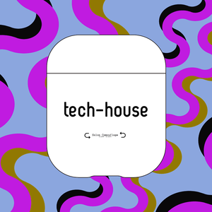What is your taste? AirPodsケース 《tech-house》