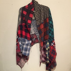 【OLD PARK】FLANNEL STOLE [2]