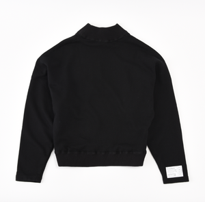 80s type mock neck sweat