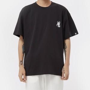【HIPANDA】メンズ Tシャツ MEN'S I WANT YOU PRINT SHORT SLEEVED T-SHIRT / DARK GRAY