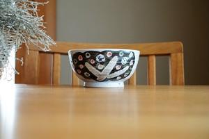 砥部焼「小さな森」丸形小丼/森陶房kaori