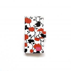 北欧デザイン iPhone手帳型ケース  | matthew red