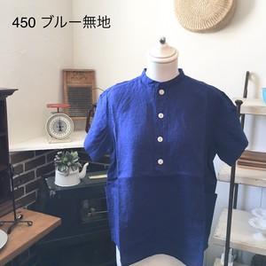 NATURAL LAUNDRY  リネンファーマーシャツ