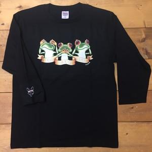 カエル ✴︎ ロングTシャツ