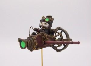 【予約専用】機械の街の飛行士猫