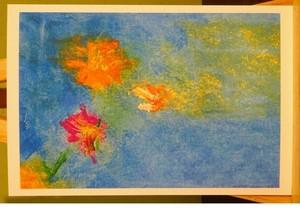 花 (ブルー)