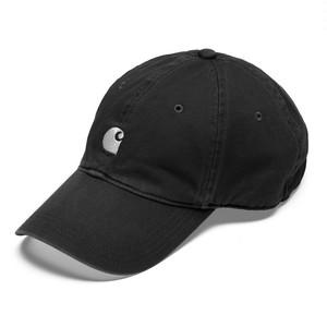Carhartt  MAJOR CAP - Asphalt / White