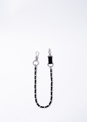 drehen wallet chain black/silver
