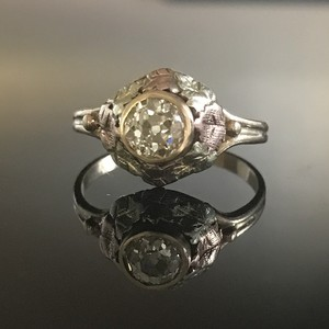 Black Hills Gold Diamond Ring