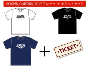 SOUND GARDEN 2017 オフィシャルTシャツ+チケットセット