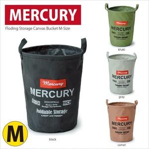 Mercury キャンバス バケツ Mサイズ