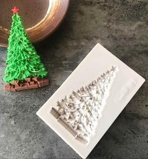 クリスマスツリー シリコンモールド