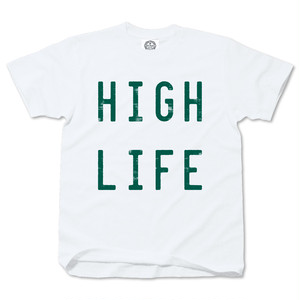 HIGH LIFE whitexgreen