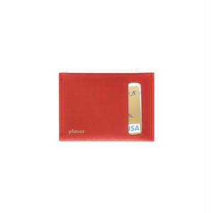Card Case S - Red Plain-
