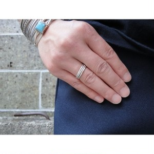 FIRST AMERICAN TRADERS (ファーストアメリカントレーダーズ) STERLING SILVER RING スパイラル