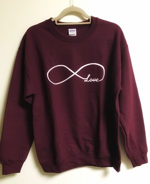 Infinity love symbol sweater