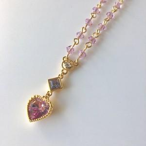 【SD用】愛の夢 ネックレス 薄紫