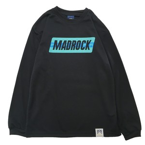 マッドロック - ブレインボール - ロンT / ドライタイプ / ブラック / MADROCK  BrainBall  L/S TEE