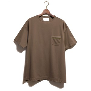 1 Pocket SS Loose Tee -olive <LSD-AI1T6>