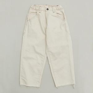 MOUN TEN.  widecropped pants (ecru)110 125 140 [MT201011-a]