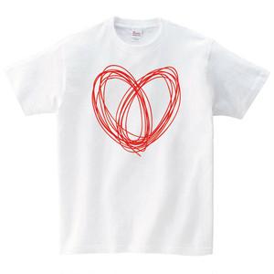 ハート Tシャツ