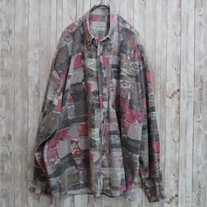 ユーロ 総柄コットンシャツ [C220]