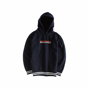 Logo Line Pull Over Hoodie (Navy)