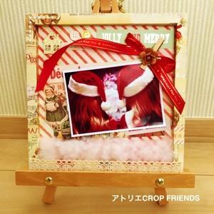 【クリスマス仕様】軽くてかわいいペーパーフレームC