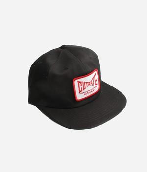 WAPPEN TWILL TRUCKER CAP / BLACK