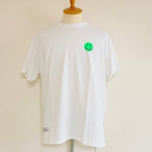 Fluorescent Smile T-shirts Green