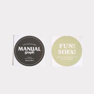 オリジナルステッカー「FUN!SOFA!」2枚組